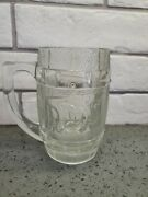 Vintage Dads Glass Root Beer Mug Heavy