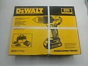New Dewalt Drill Dcd777c2 Variable Speed Reversable With Batterys And Charger