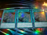 3x Outrigger Extension 1st Edition Ultra Rare Mp20-en217 Yu-gi-oh