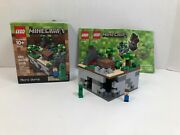 Lego Minecraft Micro World 21102 Complete Set With Manuals And Box