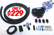 Electric Vacuum Pump Kit Power Brake Booster Aid Supercharger Cam