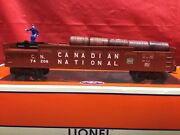 Lionel Canadian National Operating Barrel Car 6-36771 Pre-owned