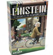 Einstein His Amazing Life And Incomparable Science Board Game Artana