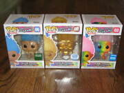 Funko Pop Good Luck Troll Lot 03 06 08 Barnes And Noble-funko Shop Exclusives