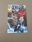 Thor 4 Marvel 2020 Series 1st Mention/ Cameo App Black Winter Last Page, Cates