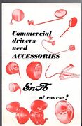 Ford Commercial Vehicle Accessories 1954 Uk Market Foldout Sales Brochure Thames