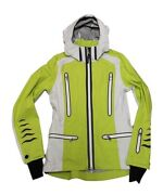 Bogner Pia T Women's Leisure Sports Jacket Green White Size 36 S New With Tag