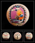 Baseball Authenticated Masterpieces Carlos Correra Game-used Auto Painted Jsa