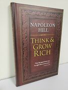 Think And Grow Rich By Napoleon Hill Hardcover Brand New Bestseller