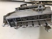 1963 1964 Olds Dynamic/super 88 A/c-heater Control Oldsmobile 98 Ninety Eight