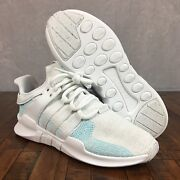 Adidas Eqt Support Adv Ck X Parley Shoes White Blue Spirit Ac7804 Mens Size 8