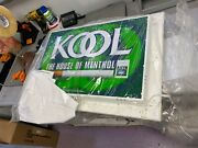 Kool Cigarette Wall Sign Lighted Electric Frame Master New