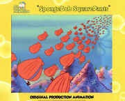 Flying Clams From Valentines Day Spongebob Production Cel 6784 Wow