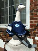 Goose Clothes 4 Lawn Goose Tampa Bay Lightning Home Hockey Cemnt Plastic