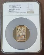 2012 Ngc Pr 70 Ultra Cameo Niue 1 Passion Of The Christ 1 Of 14 Coins
