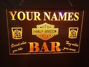 Beer Wine Personalized Led Neon Light Sign Bar Pub Inn Game Room Man Cave