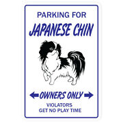 Japanese Chin Decal Dog Pet Parking Decals Toy Owner Groomer