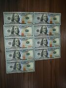 9 Sequential 100 Dollar Notes 2017 Series