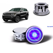Floating Led Light Illuminated Wheel Center Caps For Jeep Car 63mm 2.48in
