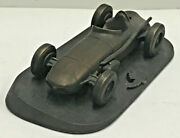 Bronze Cast Indianapolis 500 Race Car-1959 Watson Roadster Style