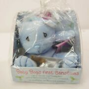 1998 Precious Moments Baby Boy's First Christmas Plush In New Condition Rare