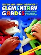 Content Area Literacy Instruction For The Elementary Grades, Donna E. Alvermann,