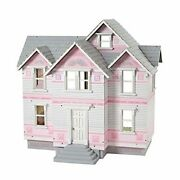 Wooden Dollhouse Victorian Style 6 Room 3 Floor Kids Pretend Play Toy 112 Scale