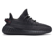Adidas Yeezy Boost 350 V2 Sneakers Shoes Black Fu9006 Kanye Size 4-11