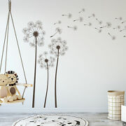 The Zoe Dandelions Wall Decal With 34 Diy Floating Seeds K794