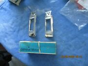 2 Nos 1969 Chevrolet Impalabelair. Station Wagon And039327 Front Fender Emblems