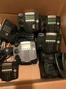 Lot Of 58+ Polycom Soundpoint Ip 450 Ip450 2201-12450-001 Office Business Phone