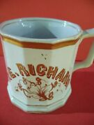 Shaving Mugs Occupational, Nice Design Very Masculine Strong Shape With Monogram