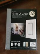Ge In-wall Add-on Switch For Zwave Zigbee Or Bluetooth
