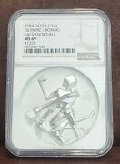 1984 Ngc Ms 69 1275 United States 1.5oz Silver Olympic-boxing Salvador Dali