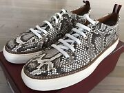 1500 Bally Hernando Real Python Roccia Sneakers Size Us 12 Made In Switzerland