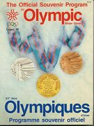 1988 Calgary Winter Olympic Games Official Souvenir Program Exc Cond 232 Pages