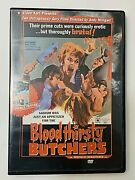 Bloodthirsty Butchers The Rats Are Coming The Werewolves Are Here Dvd Set