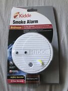 Kidde Smoke Alarm Detector Battery Operated New Sealed Bedroom Fire Alarm Safety