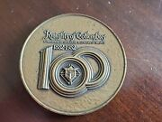 Knights Of Columbus Bronze 100 Years Medalic Art Co. Society Of Medalists