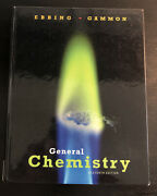 New General Chemistry By Ebbing And Gammon Hardcover Eleventh Edition Cengage