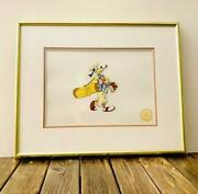 Disney Cel Picture Goofy How To Play Golf 1989 Limited 9500 Pieces Genga Art