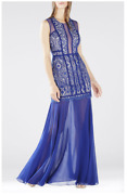 Nwt Bcbg Leonie Sleeveless Burnout Lace Gown Size 4 Bcbgmaxazria Sold Out