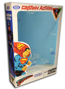 Ideal Captain Action Superman Box For 12 Action Figure Costume Box Only