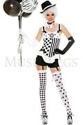 Music Legs Celestial Circus Babe Halloween Adult Women Costume 70578 Party Cloth