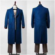 Fantastic Beasts And Where To Find Them Newton Newt Scamander Costume Cosplay