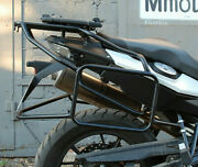 Bmw F700gs Whole-welded Luggage Rack System Black Motorcycle Accessories Bike
