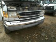 No Shipping Front Bumper Chrome Fits 97-07 Ford E150 Van 2174790