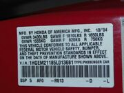 No Shipping Passenger Right Front Door Coupe Manual Fits 01-05 Civic 1146027