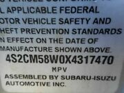 No Shipping Driver Rear Side Door Without Fender Flare Fits 98-04 Isuzu Rodeo