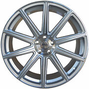 4 Gwg Wheels 20 Inch Silver Mod Rims Fits Buick Le Sabre 2000 - 2005